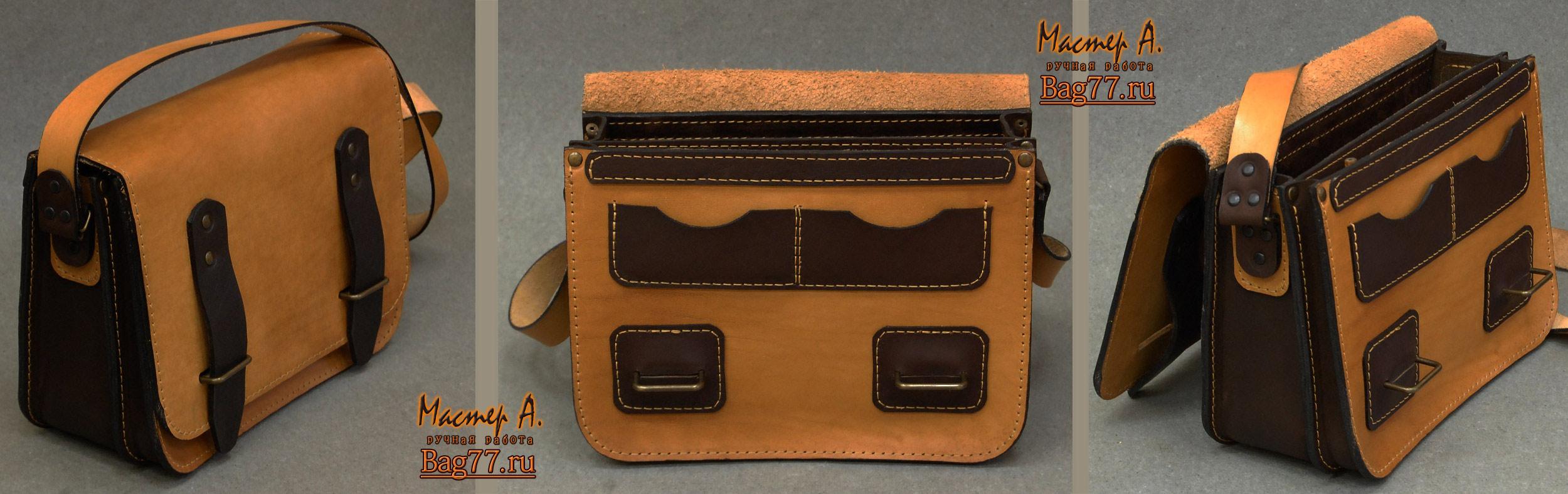 Кожаный рюкзак на заказ сшить 45