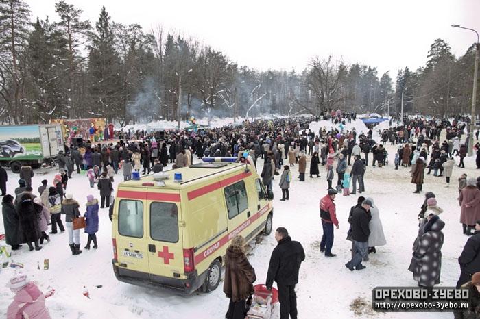 В Орехово-Зуеве встретили весну